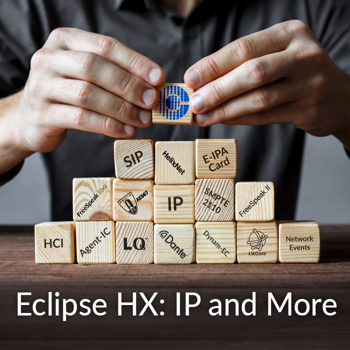 Eclipse-HX: IP and More
