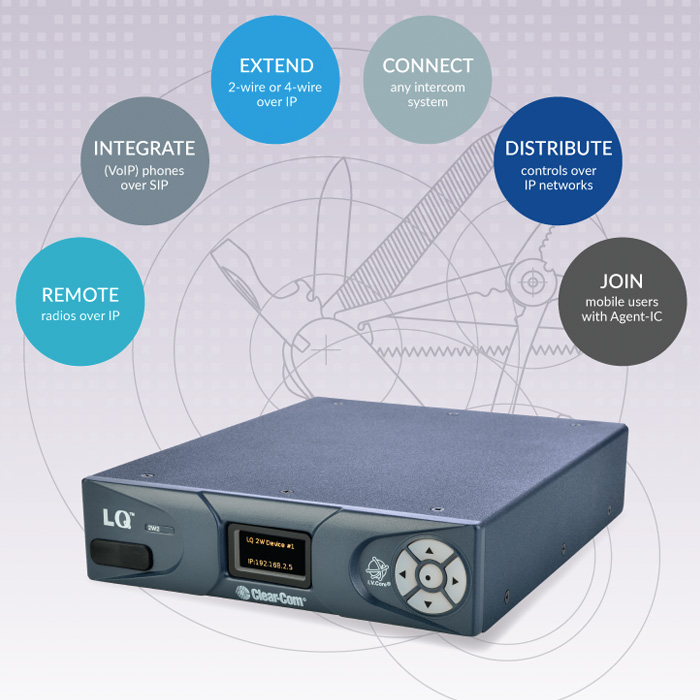 LQ-series: The Power and Versatility of IP