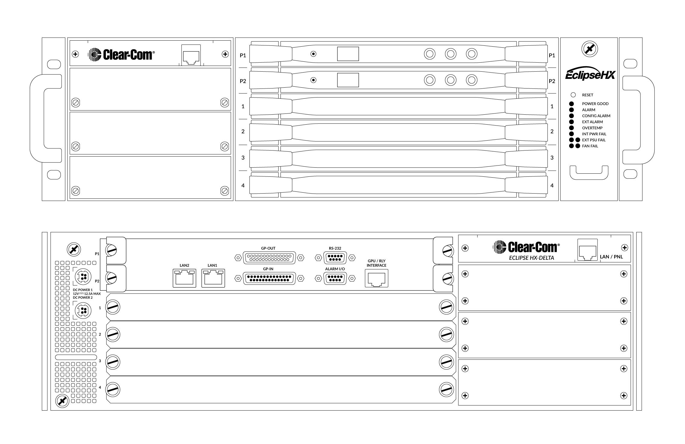 Eclipse HX-Delta   Clear-Com   Partyline, Digital Matrix, IP