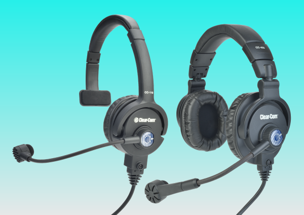 Headsets & Accessories | Clear-Com | Partyline, Digital